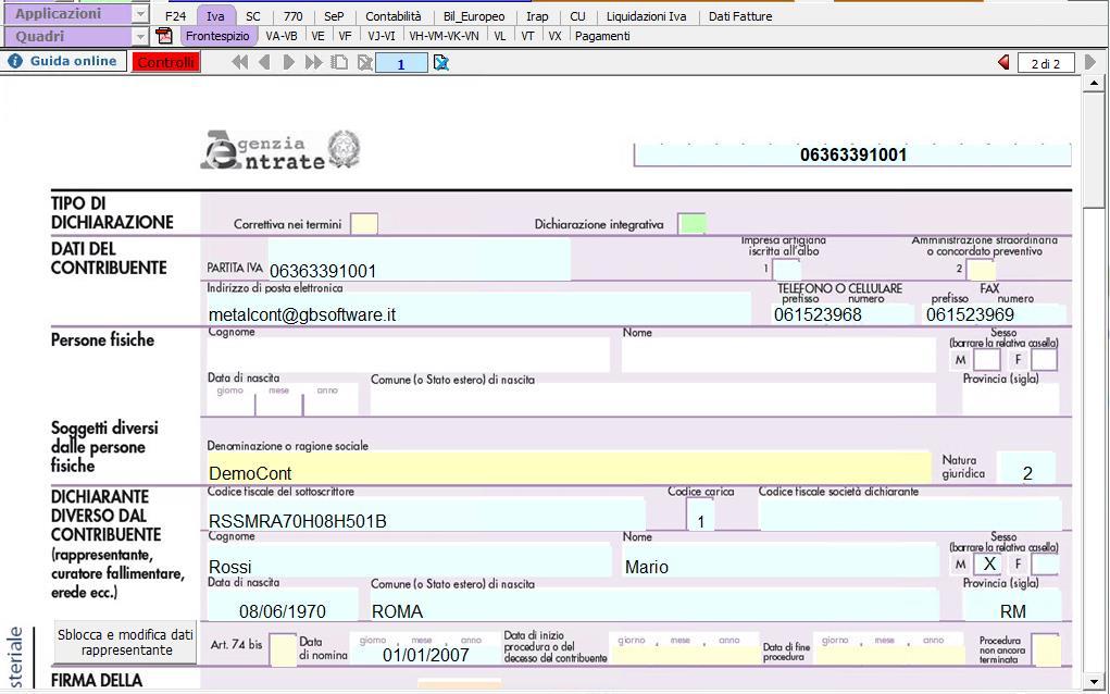 Dichiarazione IVA e IVA Base 2019: rilascio applicazione - 3
