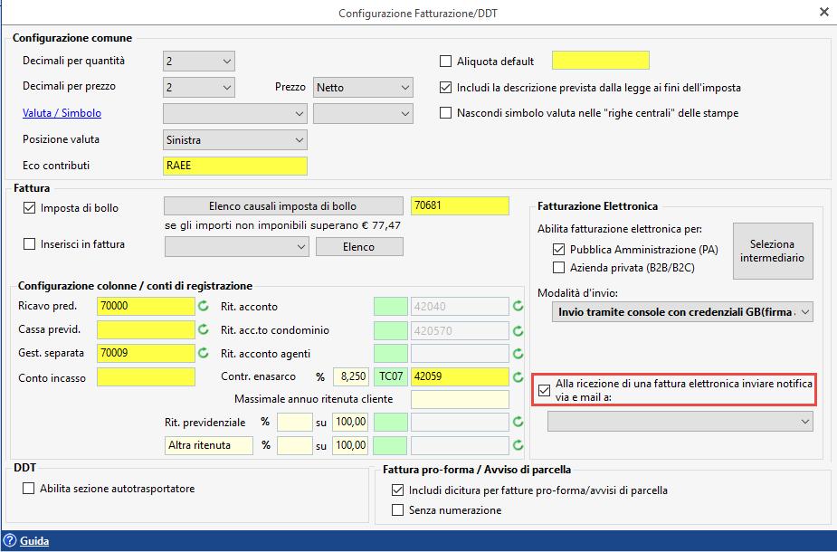 Fatturazione Elettronica: gestione ciclo attivo con GB (versione locale) - 3