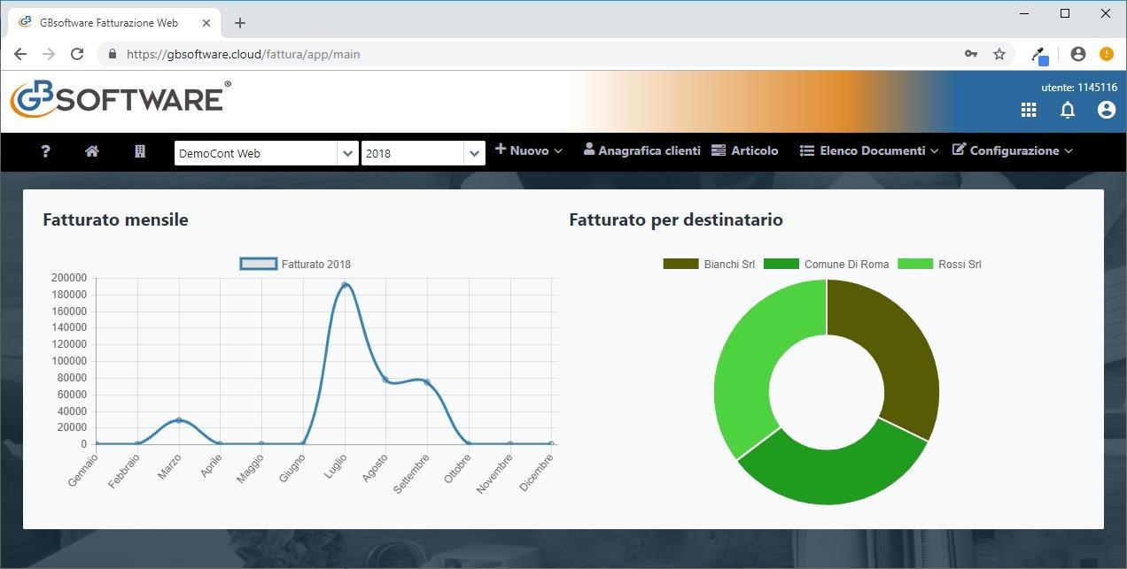 Fatturazione Web: rilascio applicazione - 3