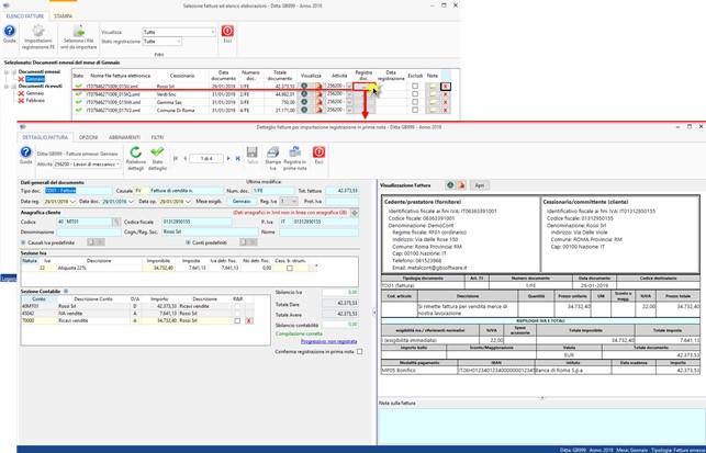 Importazione Fatture Elettroniche XML in Prima Nota: rilascio applicazione - 3