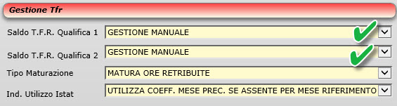 Gestione TFR - Manuale