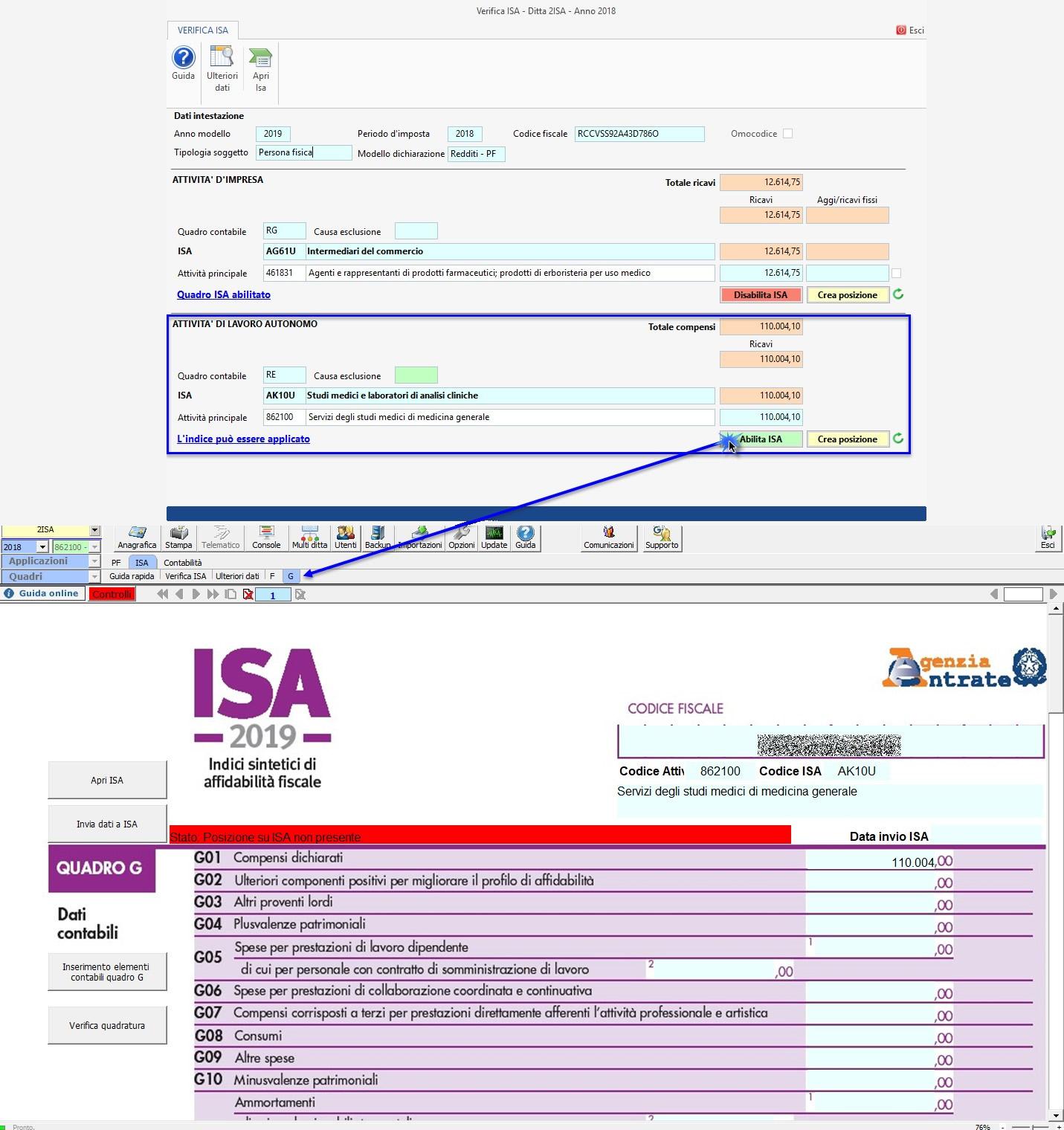 ISA 2019: gestione di due Indici di affidabilità fiscale - 3