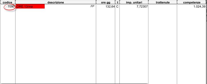 Dal bottone download prelevare il PDF generato