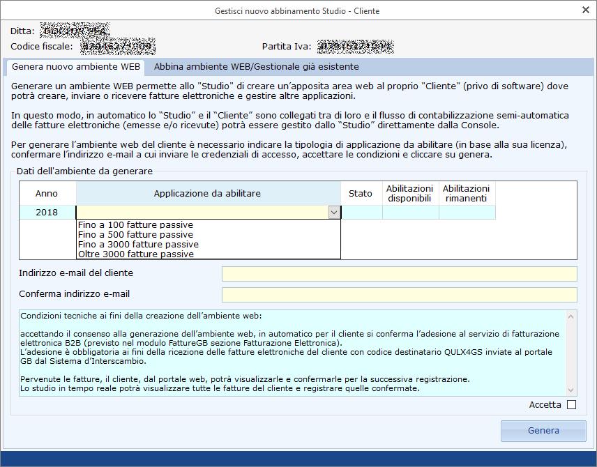 Ricezione delle Fatture Elettroniche per conto dei Clienti: Registrazione Indirizzo Telematico e QR Code - 3