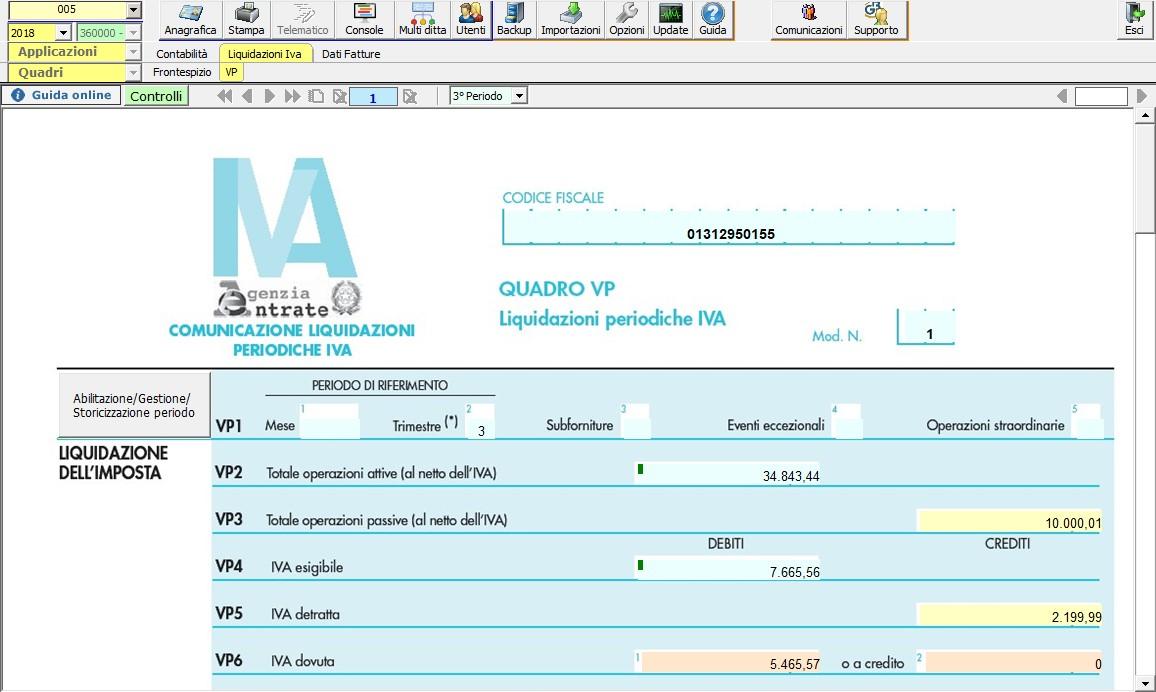Caso pratico: Saldi di bilancio al 30/06 e parziale tenuta della contabilità - 3