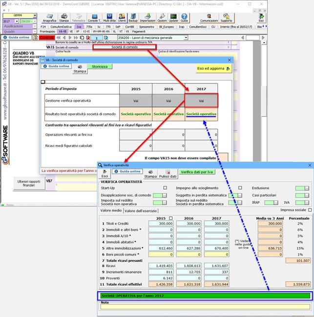Verifica dell'operatività 2018: una gestione più applicazioni - 3