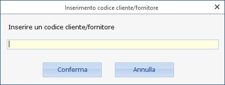 Anagrafica clienti - fornitori: abbinamento nominativo già utilizzato in altre ditte - 4