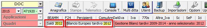 Bilanci Tardivi 2009-2014: disponibile applicazione - 4