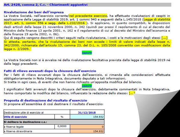 Bilancio 2019: Relazione sulla gestione aggiornata da Confindustria e CNDCEC - 4