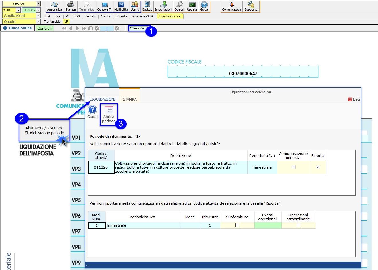 Comunicazione Liquidazioni Periodiche Iva 2018: rilascio applicazione - 4