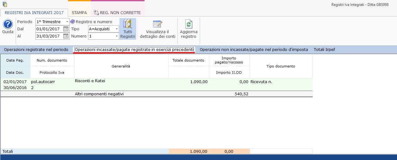 Contabilità Semplificata: Registri IVA integrati - 4
