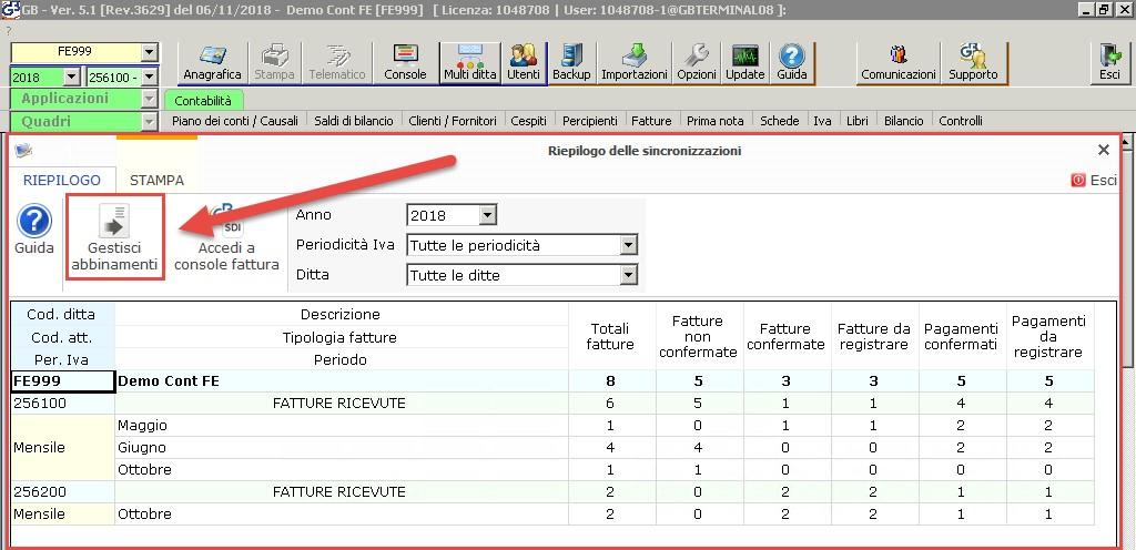 Fatturazione Web: rilascio e sincronizzazione anagrafiche clienti - 4