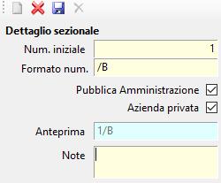 Fatturazione Elettronica: sezionali dei documenti - 4