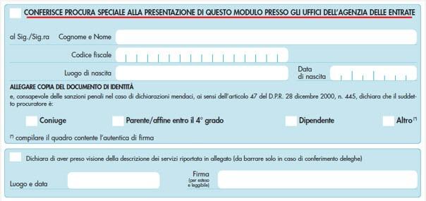 Modulo Delega Fatturazione Elettronica - 4