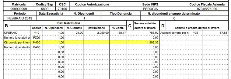 Paghe 2019: Caso Pratico - Ticket Licenziamento - 4