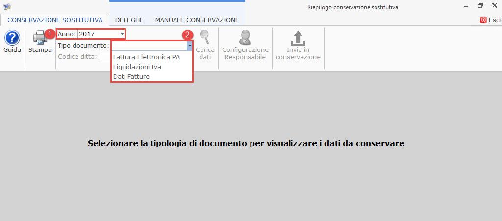 Conservazione file 2017 Dati Fatture, Liquidazioni Iva e Fatture elettroniche PA 2017: rilascio applicazione - 3