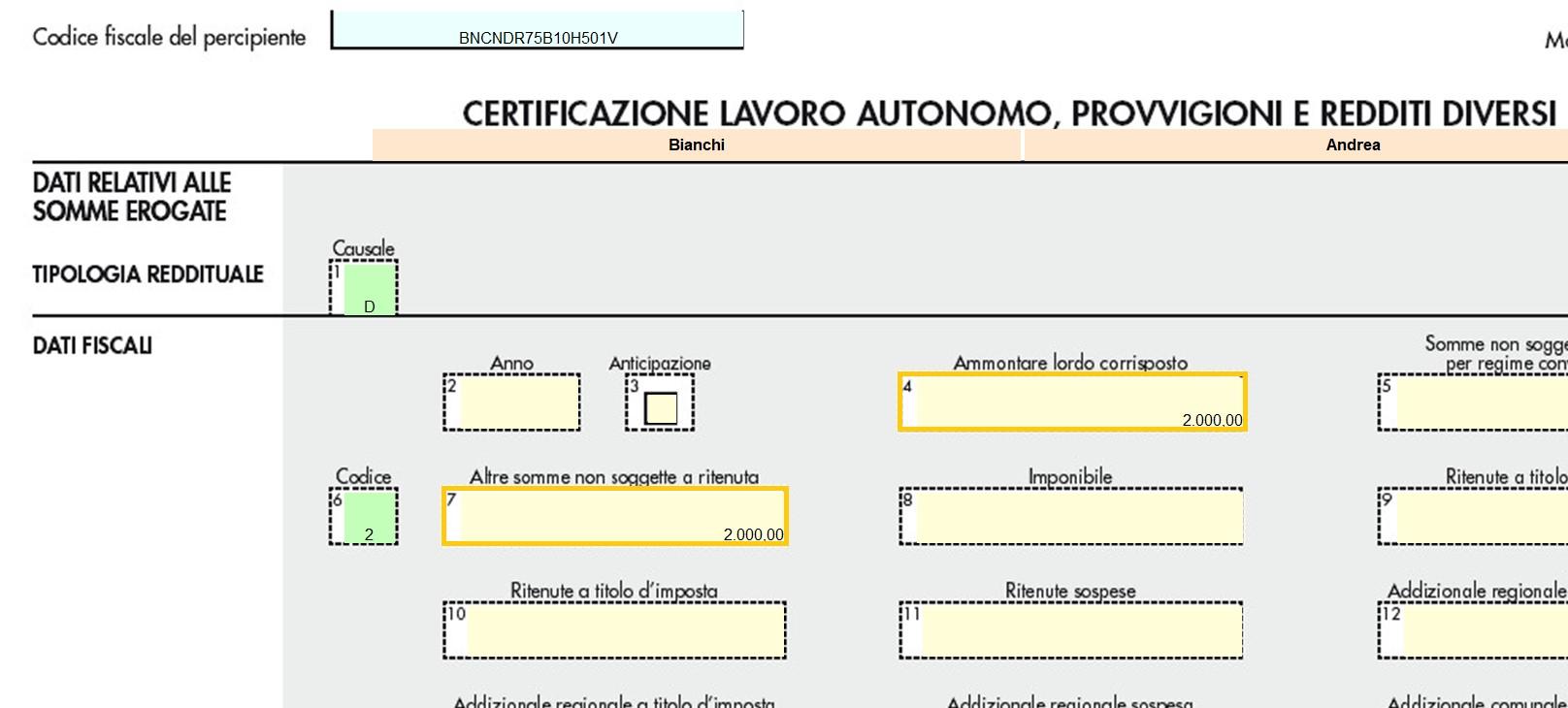 Certificazione Unica 2019: nuova ordinaria, annullamento o sostituzione - 5