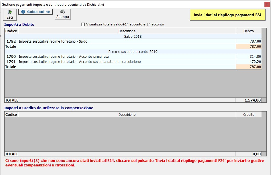 Compilazione Quadro LM 2019: contribuente forfetari - 5