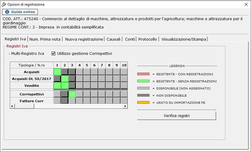 Contabilità: abilitazione di un nuovo registro IVA - 5