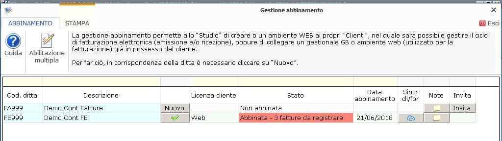Fatturazione Web: rilascio e sincronizzazione anagrafiche clienti - 5
