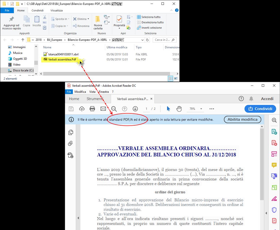 Caso pratico: Importare Verbale assemblea redatto con Word / Open Office - 5