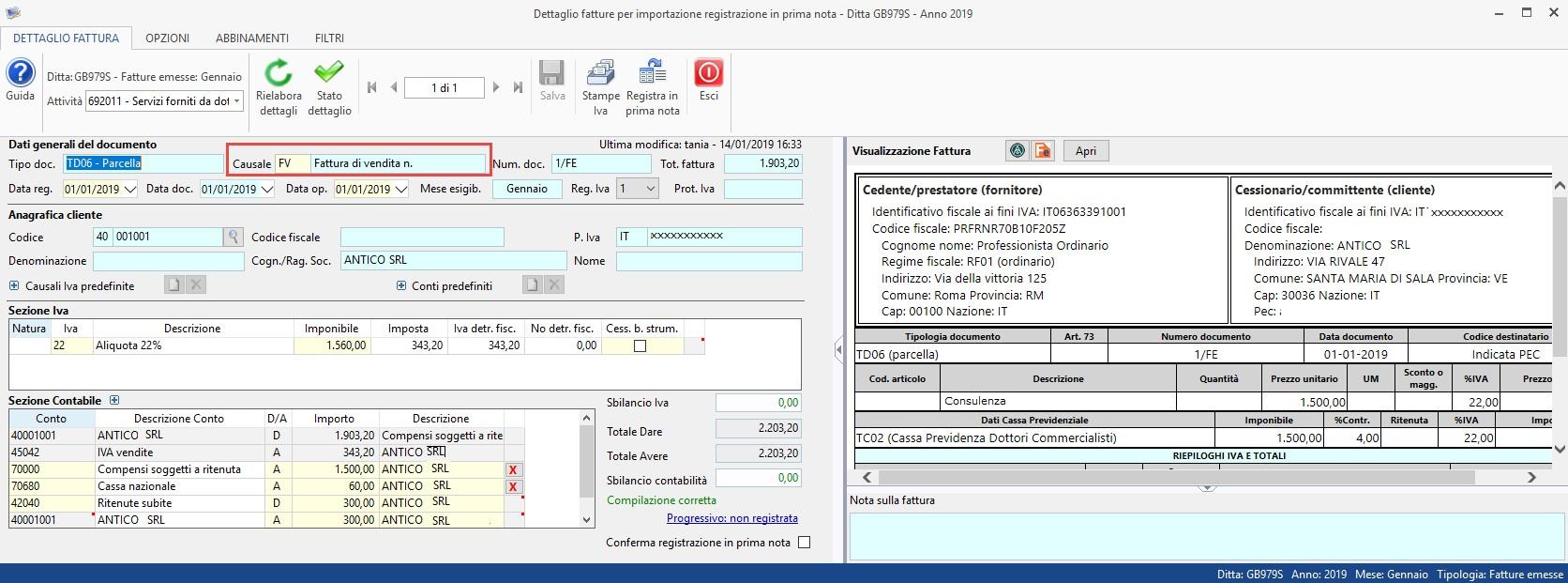 Importazione Fatture Elettroniche XML in Prima Nota: rilascio applicazione - 5