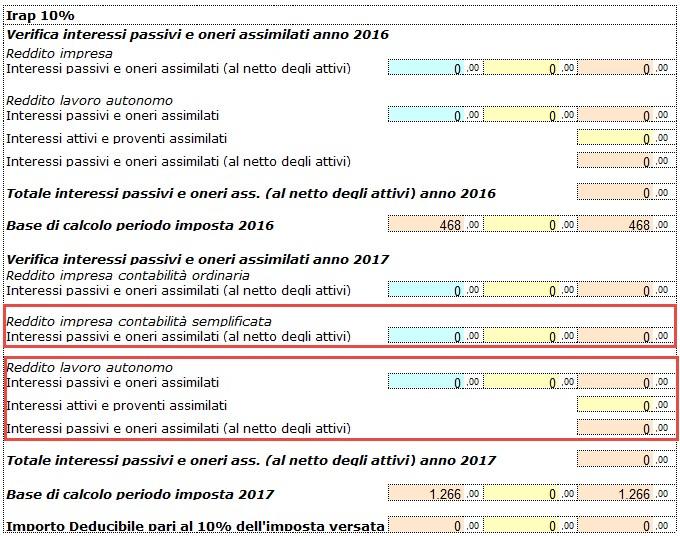 Redditi 2018: IRAP e deducibilità ai fini delle imposte dirette - 5