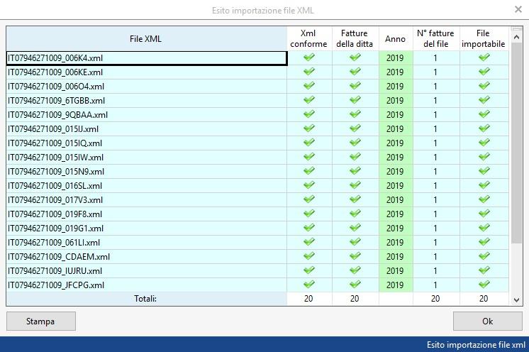 Caso pratico: Registrazione fatture elettroniche prodotte con altri software - 5