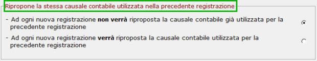 Nuova registrazione_causale