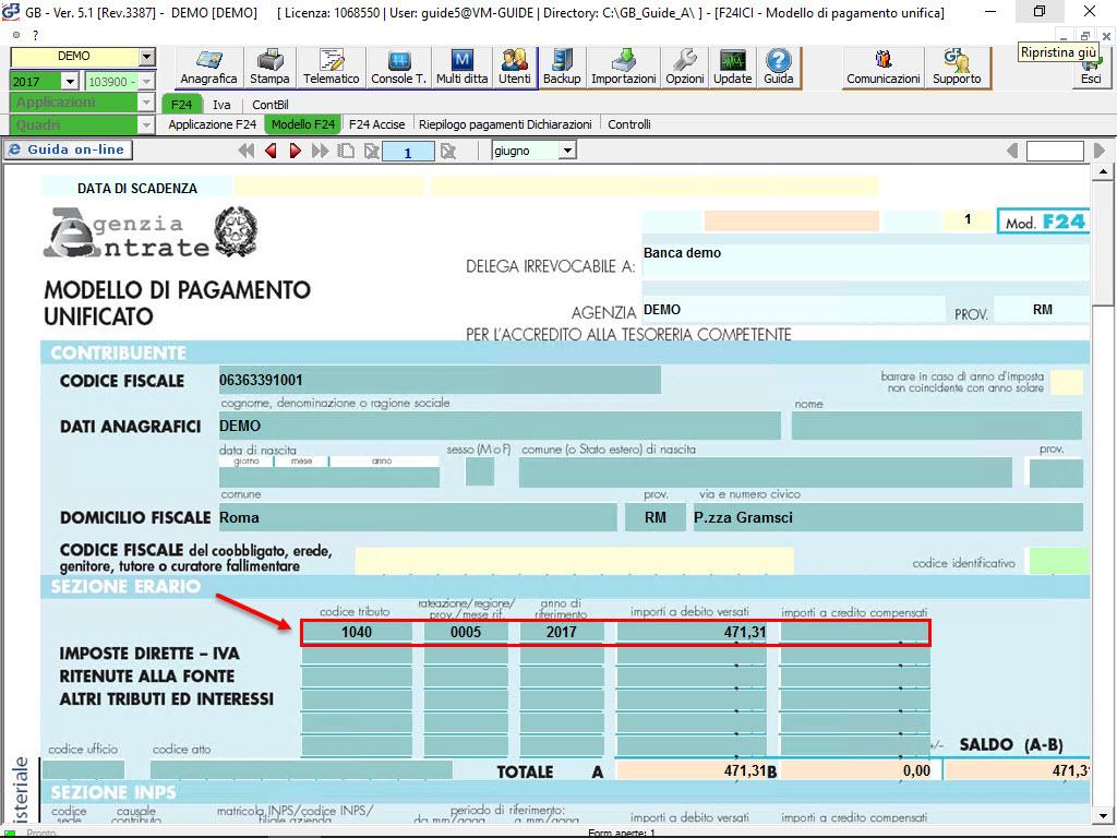 Acquisti da raccoglitori occasionali di tartufo software for F24 elide prima registrazione