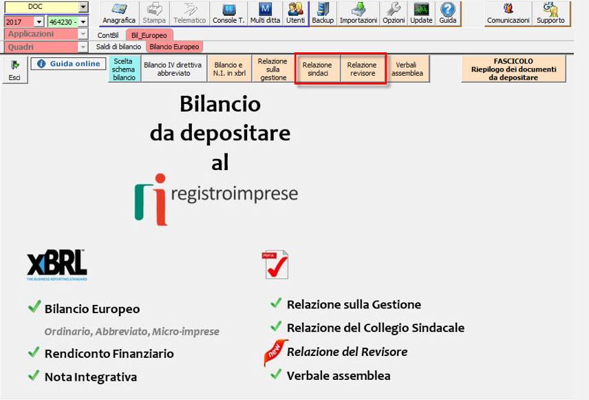 Bilancio Europeo 2018: rilascio applicazione e principali novità - 5