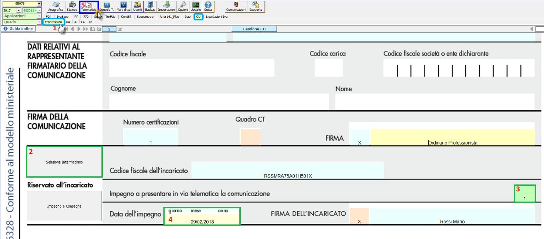 Creazione file telematico