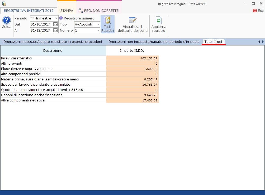 Contabilità Semplificata: Registri IVA integrati - 6