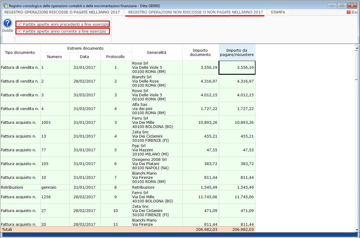 Contabilità Semplificata: Registro incassi/pagamenti - 6