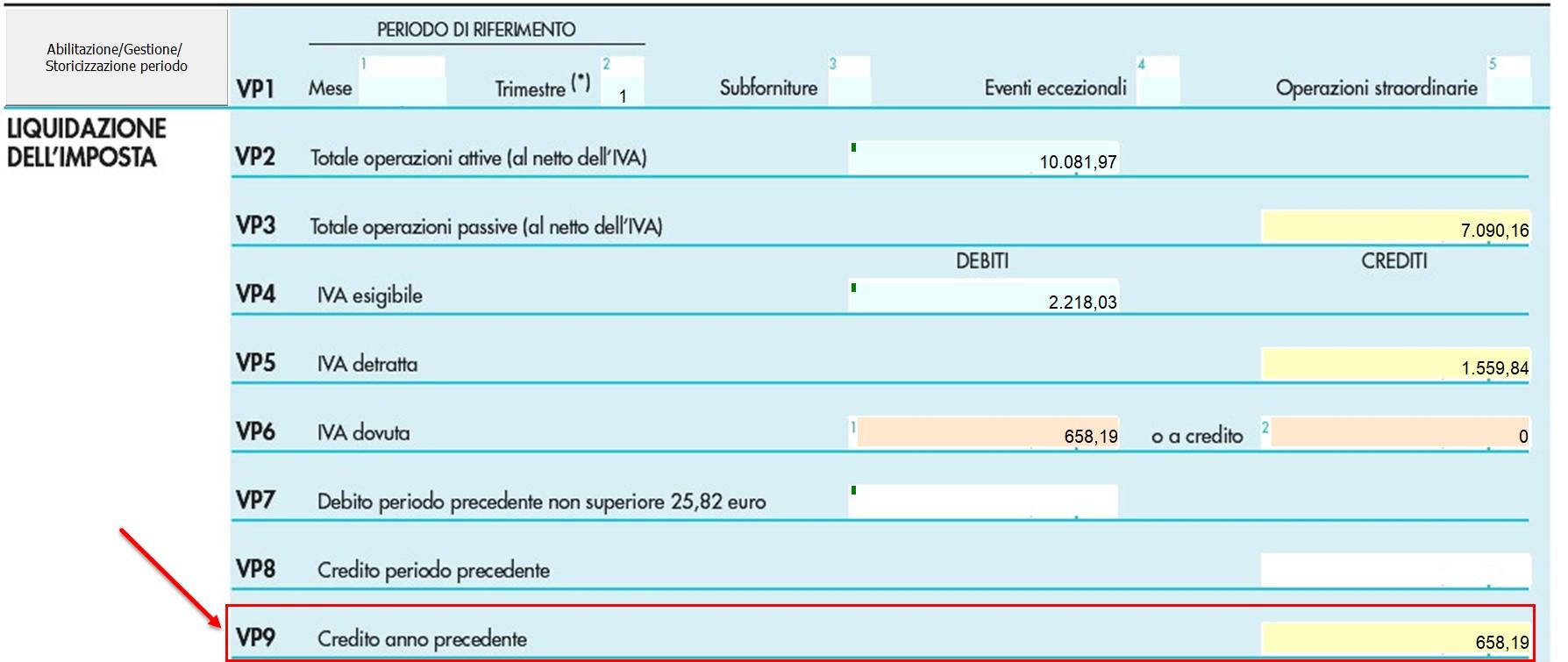 F24: gestione del credito IVA 2018 - 6