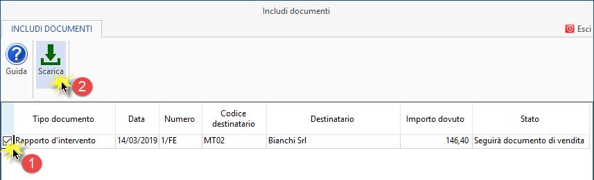 Fatture 2019: funzionalità per creazione documenti - 6