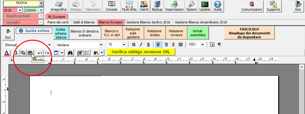 Caso pratico: Importare Verbale assemblea redatto con Word / Open Office - 6