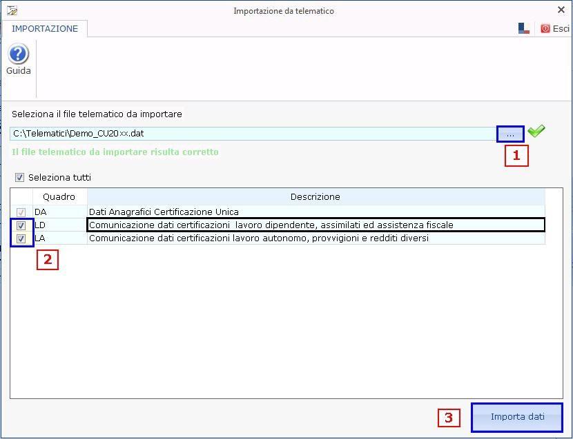 Paghe GB Web 2017: Modello Certificazione Unica 2018 - 6