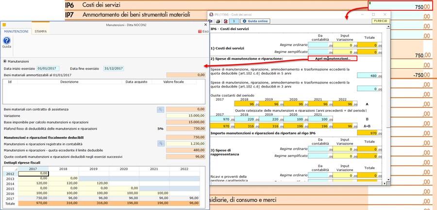 Deducibilità spese di Manutenzione e Riparazione 2017: aggiornamento versione - 6