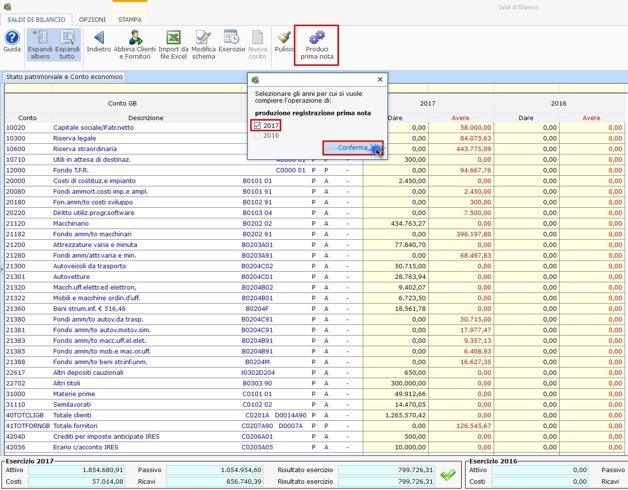 Caso pratico: Saldi di bilancio al 30/06 e parziale tenuta della contabilità - 6