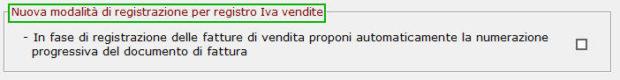 Nuova registrazione_registro Iva vendite