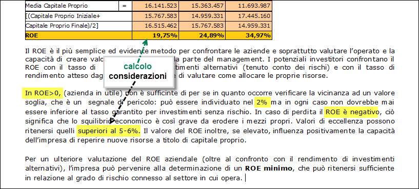 Caso Pratico: Indici di bilancio controllati dalle banche - 7