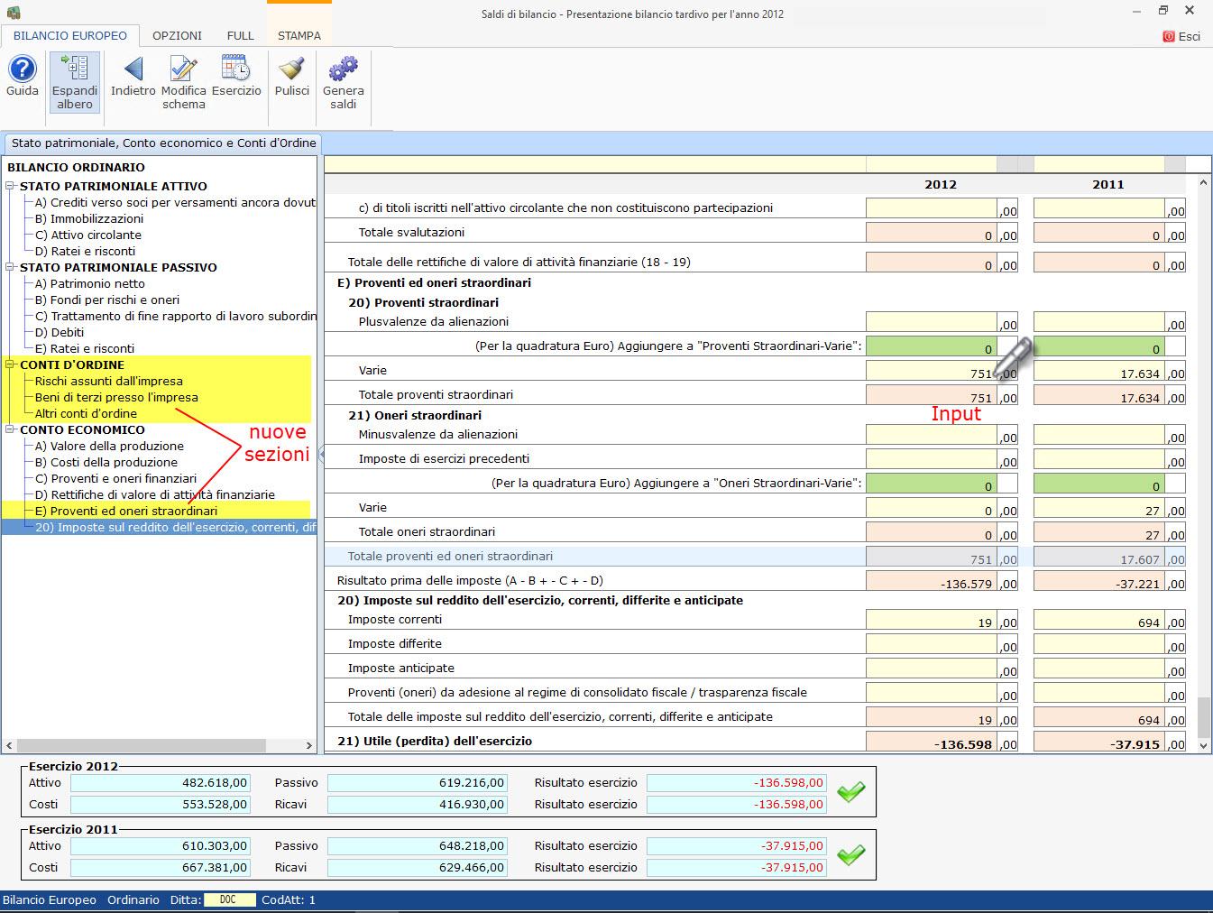 Bilanci Tardivi 2009-2014: disponibile applicazione - 7