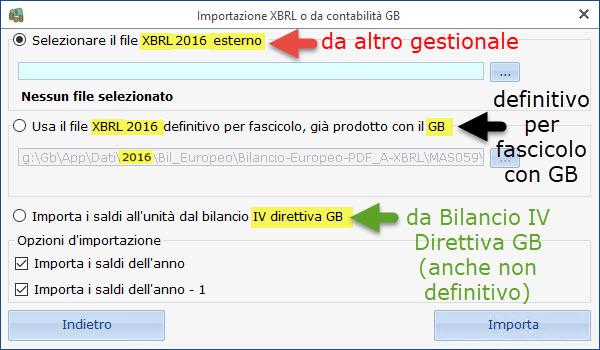 Bilancio Tardivo 2016 con tassonomia 2018: rilascio applicazione - 7