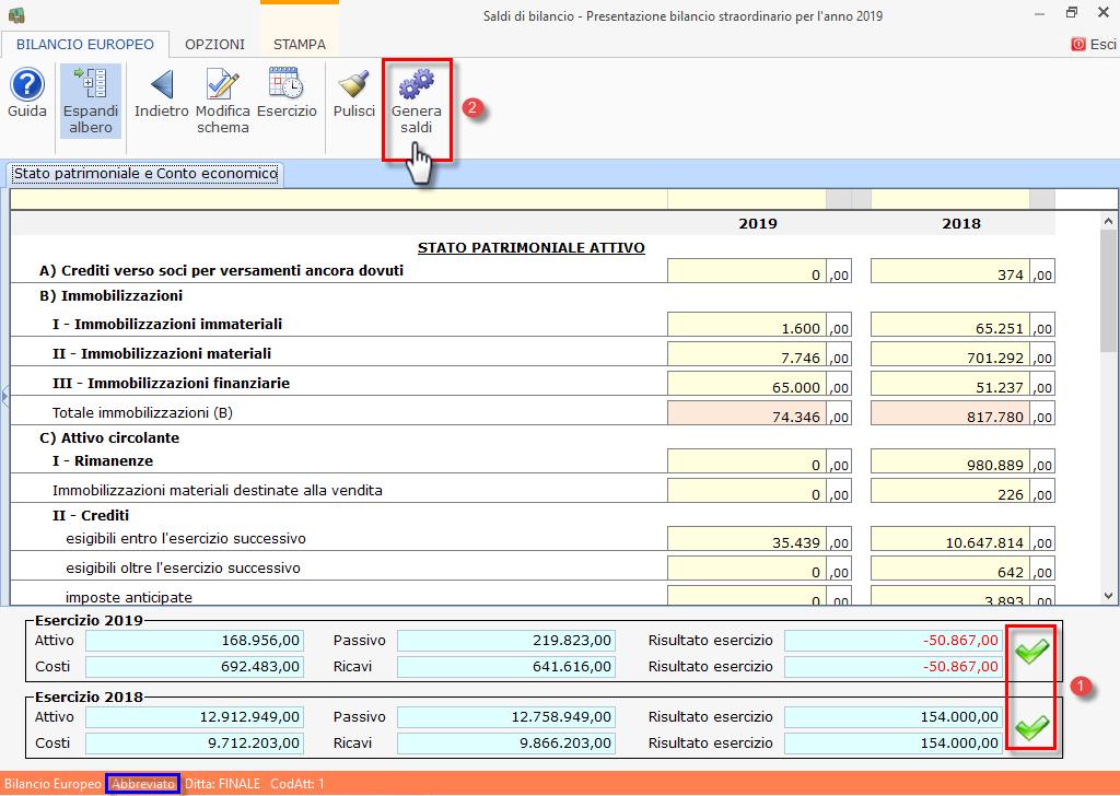 Caso pratico: Bilancio finale di liquidazione con Bilancio Straordinario - 7