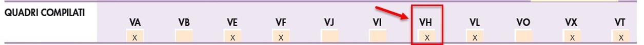 Dichiarazione IVA 2019: casi di compilazione del quadro VH - 7