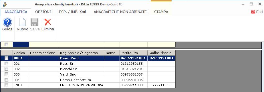 Fatturazione Web: rilascio e sincronizzazione anagrafiche clienti - 7
