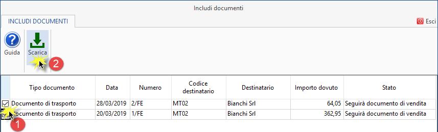 Fatture 2019: funzionalità per creazione documenti - 7