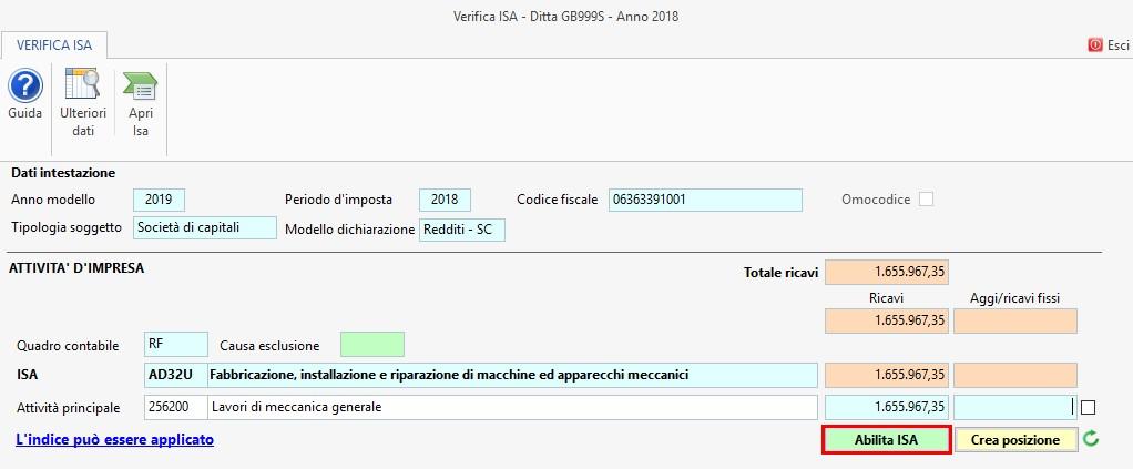 ISA 2019: modalità operative - 7