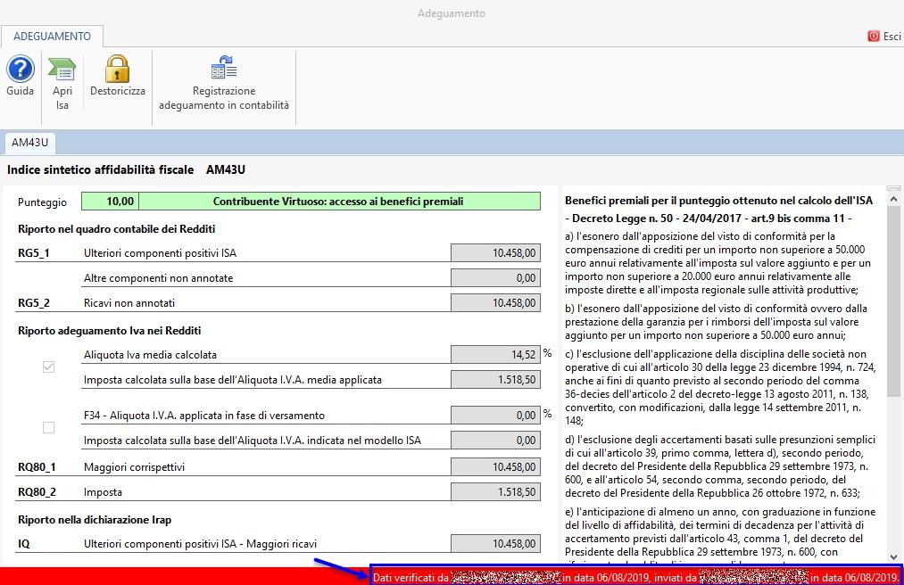 ISA 2019: rilevazione contabile Ulteriori componenti positivi - 7